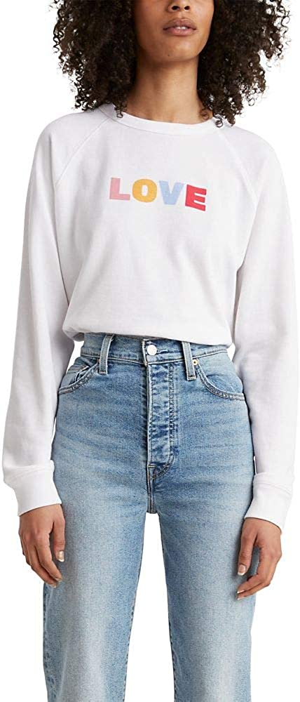 Levi's Under blast sales Women's Graphic Everyday Crew Surprise price Sweatshirts