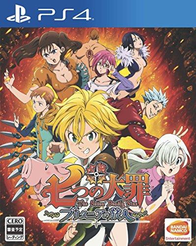 Bandai Namco Nanatsu no Taizai Britannia no Tabibito SONY PS4 PLAYSTATION 4 JAPANESE VERSION