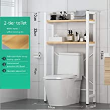 WC-plank opbergrek, ruimtebesparende badkamerrek Handdoekhouder Plankorganizer voor thuiswas
