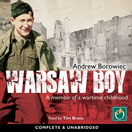 Warsaw Boy audiobook cover art