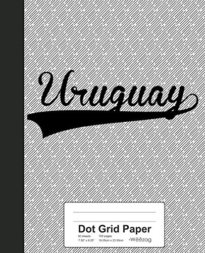 Dot Grid Paper: URUGUAY Notebook (Weezag Wine Review Paper Notebook, Band 4053)