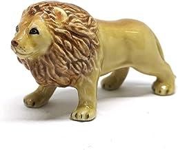 Best ZOOCRAFT Collectible Ceramic Lion Figurine Handicraft Miniature Safari King of Jungle Review