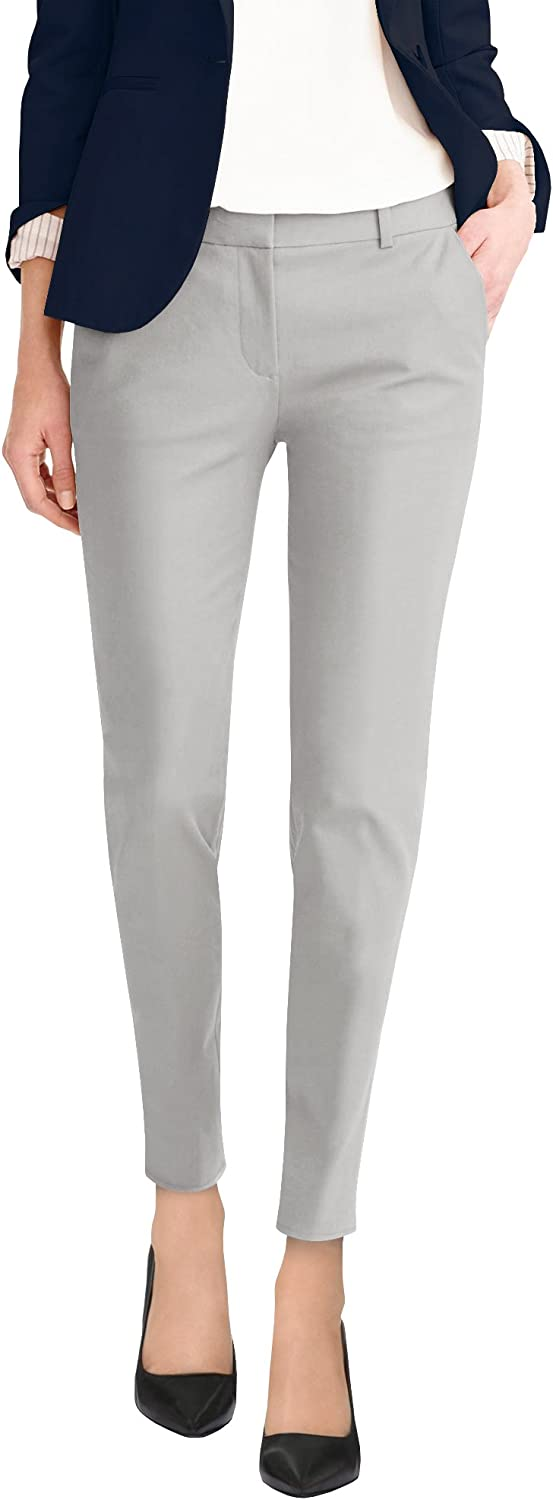 Hybrid Company Max 80% OFF Super Comfy Flat Stretch Plus Size Trouse Max 69% OFF Front