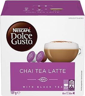 NESCAFÉ Dolce Gusto Chai Tea Latte Coffee Pods, 16 Capsules (8 Serves) 159.2g