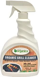 Native Organics Oven & Grill Cleaner Spray 1 Liter (33.8 fl oz) –100% Natural, Non-toxic, Plant-Based, Powerful & Effective Food Grade Green Cleaner- Child & Pet safe Made in the USA, Grapefruit Scent