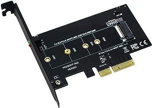 BEYIMEI M.2 Adaptador PCIe a PCIe 3.0 x4 - Compatible con M.2 PCIe 2280, 2260, 2242, 2230