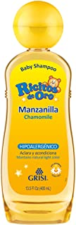 Ricitos de Oro Shampoo, Manzanilla, color Amarillo, 400 ml