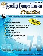 Carson-Dellosa Reading Comprehension Practice Resource Book, Grades 7-8