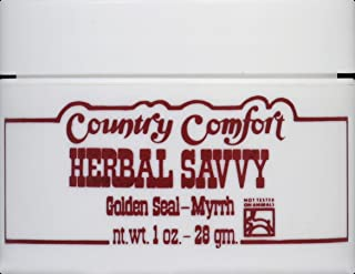Country Comfort Myrrh Goldenseal Savvy 1 Oz