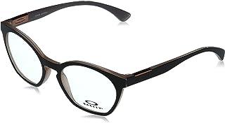 Oakley Women's OX8168 Tone Down Round Prescription Eyewear Frames, Polished Dusty Rose/Demo Lens, 52mm