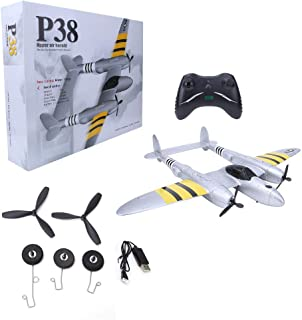 RC Plane, Plane Model Toy Simulation Glider RC Glider, Quality EPP High Elastic Material 2.4Ghz for Baby Kids
