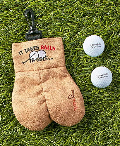 MySack Golf Ball Storage Bag | This Funny Golf Gift is Sure to Get a Laugh | Store Your Other Golf Accessories for Men Such as Tees & Gloves by Putting Them in This Gag Gift