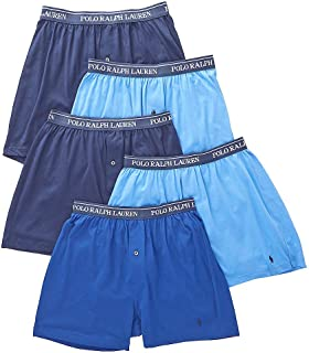 Men's Classic Fit w/Wicking 5-Pack Boxers