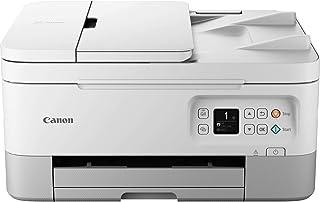 Canon PIXMA TS7451 kleureninkjetprinter, multifunctionele printer DIN A4 (scanner, kopieerapparaat, fotoprinter, OLED, 4.8...