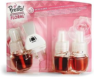 Amazon-merk: PrestoFloral Air Freshener Starter Kit Electric Diffuser and Refill Pack (1 Diffuser & 3 Refill Packs) - EU ...