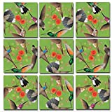 Scramble Squares Hummingbirds 9 Piece Challenging Puzzle - Ultimate Brain Teaser and Mind Game for Young and Senior Alike - Engaging and Creative With Beautiful Artwork - By B.Dazzle
