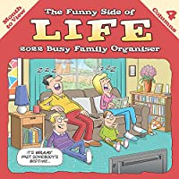Funny Side of Life Square Wiro Wall Planner Calendar 2022
