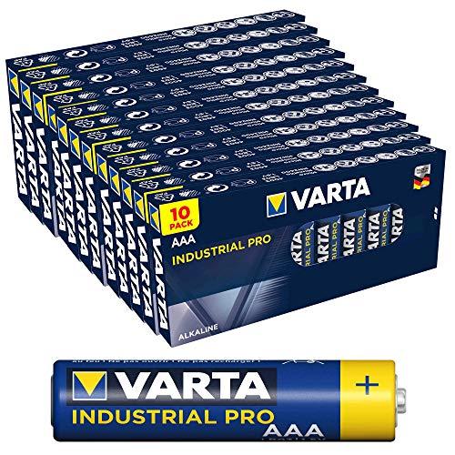 Varta Industrial Pro LR03 Micro (AAA)-Batterie Alkali-Mangan 1220 mAh 1.5V 1St.