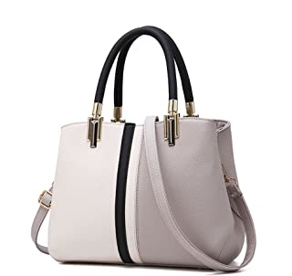Purses and Handbags for Women Top Handle Bags Leather Satchel Totes Shoulder Bag From Nevenka