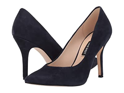 Nine West Flax Pump (French Navy) High Heels