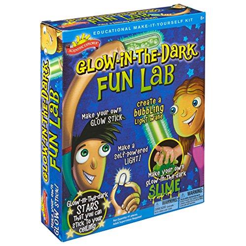 Scientific Explorer Glow in the Dark Fun Lab Science Kit