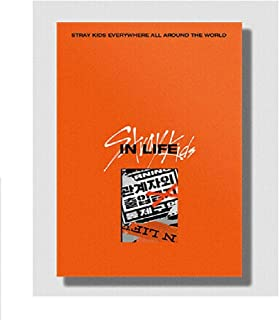 JYP ent Stray Kids - IN生 Standard Edition (Vol.1 Repackage) Album+Pre-Order Benefit+Folded Poster+Extra Photocards Set (...