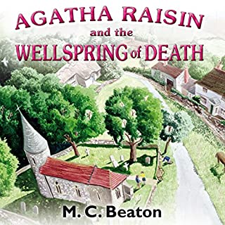 Couverture de Agatha Raisin and the Wellspring of Death