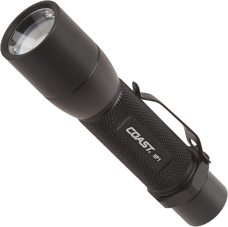 COAST HP1 190 Lumen Pure Beam Focusing LED Flashlight