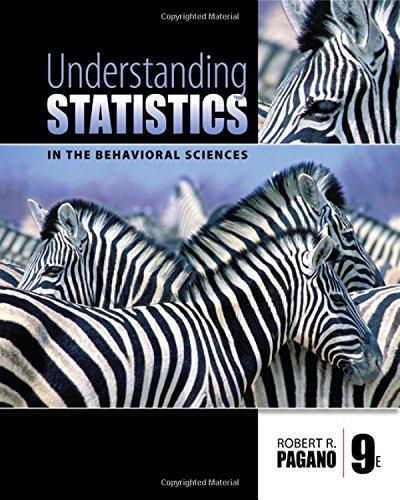 Understanding Statistics in the Behavioral Sciences...