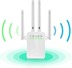 $49 » WiFi Repeater - WiFi Booster,Signal Extender, 360° Full Coverage Up to 2500 sq.ft,1200 Mbps 2.4 & 5GHz Wireless Internet A...