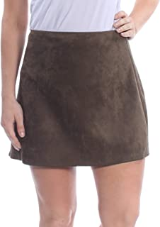 French Connection Womens Patty Faux Suede Mini Mini Skirt