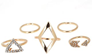 Hinyyrin Alloy-Rings Crystal Jewelry finger rings for women girls