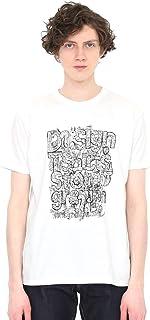 (グラニフ) graniph Tシャツ タテロゴ (マッティ ピックヤムサ) (ホワイト) メンズ レディース (g01) (g14)