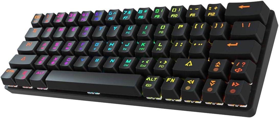 DIERYA DK63 60% Keyboard Max 56% OFF with Wireless Max 45% OFF Wir Arrow Dedicated Keys