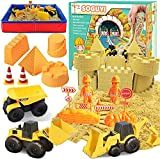 SOGUYI Arena Magica Niños Playa Juegos Coche de 1350g con Arenero Infantil Plegable para niños Pequeños de 3, 4 o 5 Años