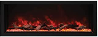 Amantii Indoor/Outdoor Built-in Electric Fireplace (BI-60-DEEP-XT), Extra Tall, 60-Inch
