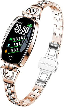 Women's Smart Watch, Pard Fashion Heart Rate Blood Pressure Activity Fitness Tracker, Gold