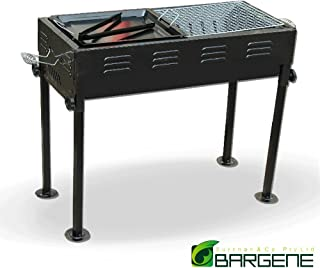 Portable Outdoor Mangal BBQ Grill Charcoal Shish Kebab Shashly Picnic Camping