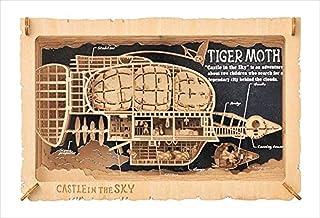 Ensky Studio Ghibli Film Castle in the Sky Papier Teater (Tiger Moth Luftschiff) pt-wl01