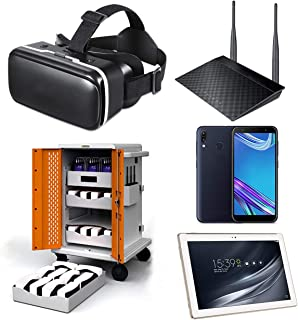 Google Expeditions Student VR Kit (30 Pack) - Android VR Device, Dual Core Router, Teacher Tablet, Carry Case (30 Kit)