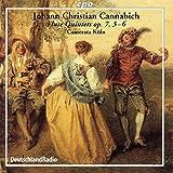 Cannabich: Flute Quintets Op. 7 Nos. 3-6