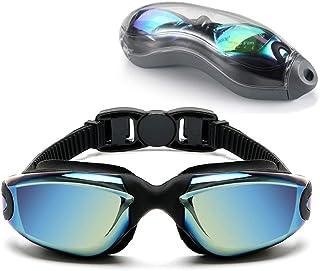 Sosila Zwembril, anti-condens, siliconen neusbrug, duikbril, anti-condenscoating, uv-bescherming, brillenglazen, waterdich...