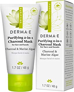 Derma E, Purifying 2-in-1 Charcoal Mask, 1.7 oz