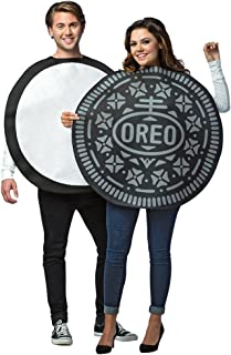 Adult Size Oreo Cookie Couples Costume - 2 in 1 Package - Foodie Snacks