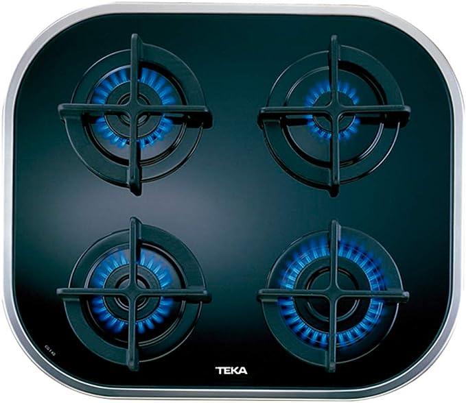 Teka CG.1 4G AI AL - Placa (Incorporado, Gas, Vidrio, 7500W, 59 cm, 51 cm)