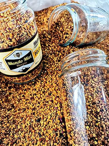 Polen de abejas Natural y Puro Multifloral. Directo del Apicultor. Nerpio, Sierra del Segura, 100% NATURAL- Empresa Familiar- Desde 1972- Origen ESPAÑA 230gr.