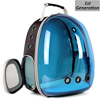 Cat Backpack Bubble, Space Capsule Pet Backpack for Small Dog, Traveling, Camping and Hiking Outdoor Polarized Tinted Bag for Fat Kitten, Airline Approved