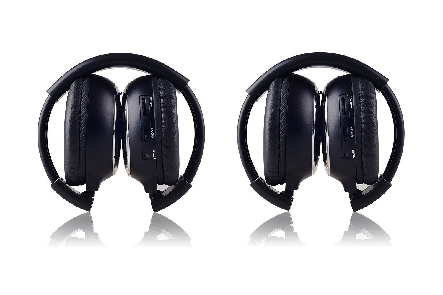 Crusar Wireless Two Channel Foldable Headphones