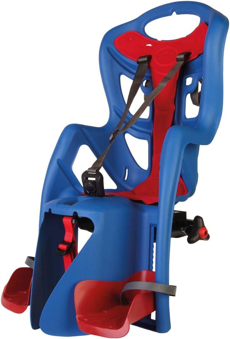 Pepe - Asiento Posterior de Bicicleta - para niños de hasta 22 kg, de 3 a 8 años - Se Fija al Portaequipaje