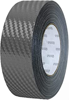 VViViD Dry Carbon Fibre Detailing Vinyl Wrap Tape 2 Inch x 20ft Roll DIY (Gunmetal Grey)